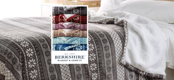 Berkshire Fair Isle Velvet Soft Reverse to Sherpa Blanket from $23 ...