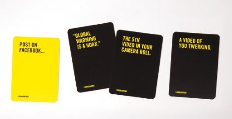 Social sabotage cards