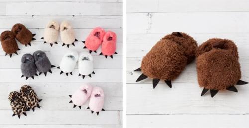 Kids cute fun animal slippers