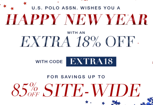 U.S. Polo assn new years