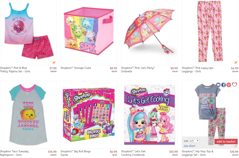 Shopkins at Zulily