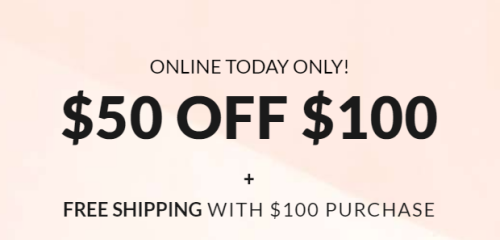 Lane bryant $50 off $100