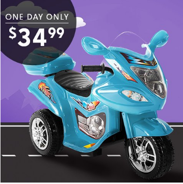 Lil' Rider 3-Wheel Motorcycle $34.99
