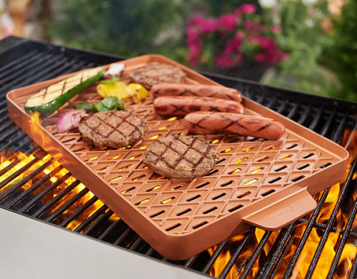 Copper Chef X-Design Choice of Size Barbecue Pan & Brush