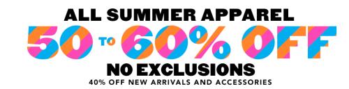 Children's place summer sale