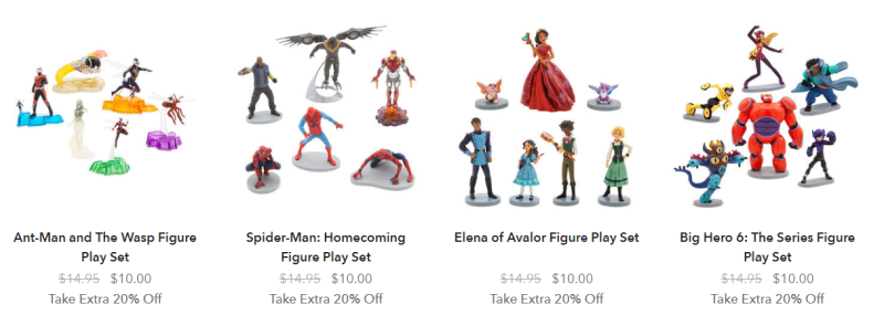 Disney store playsets 2