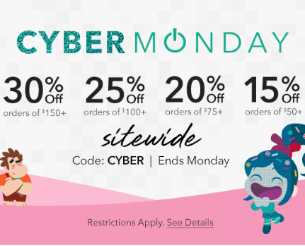 Disney store cyber monday