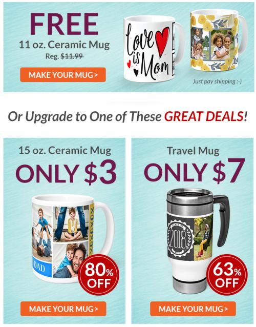 York photo free mug