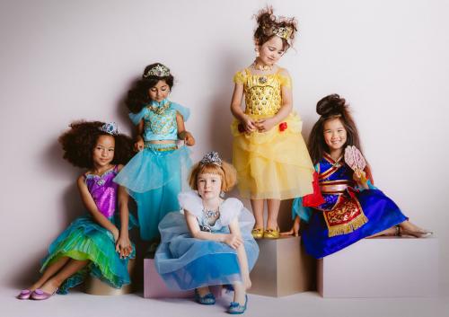 Disney princess costumes on sale