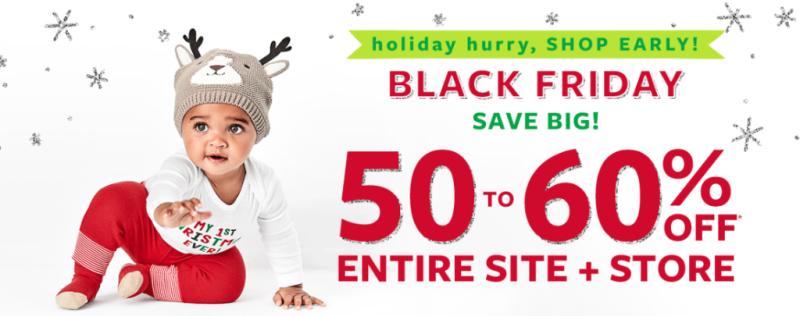 Carter's black friday sale