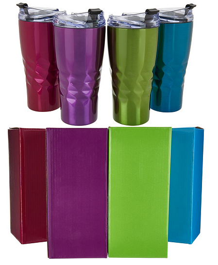 Primula peak set of 4 tumblers bright