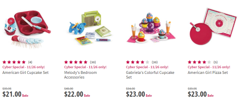 American girl accessories 2 cyber monday