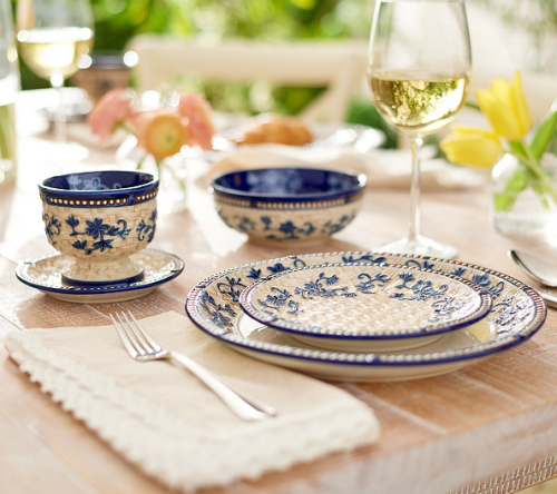 Temp-tations Floral Lace or Old World 20-pc Dinnerware Set 2