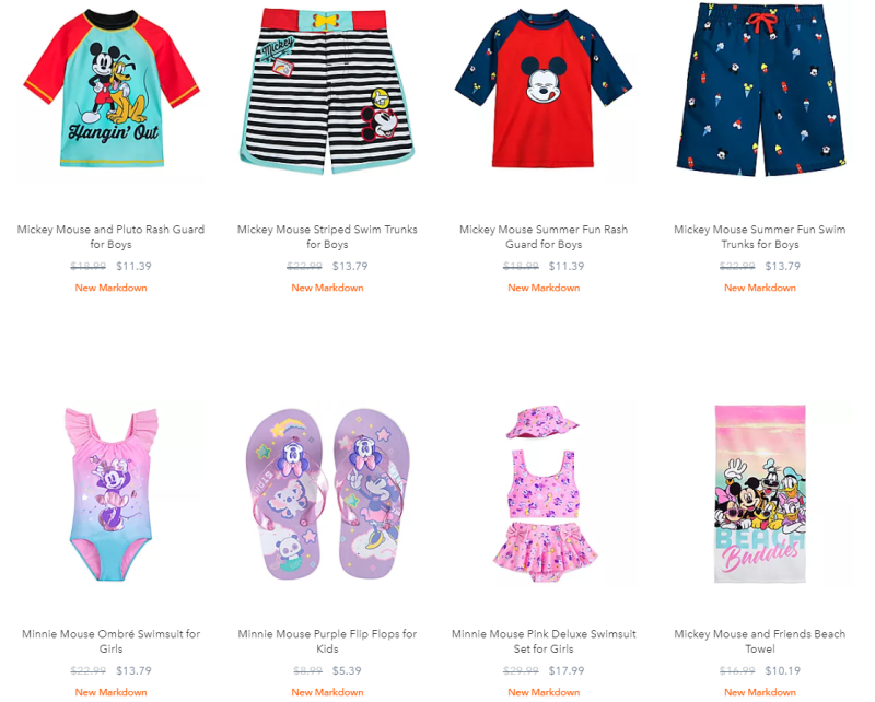 Disney swim sale