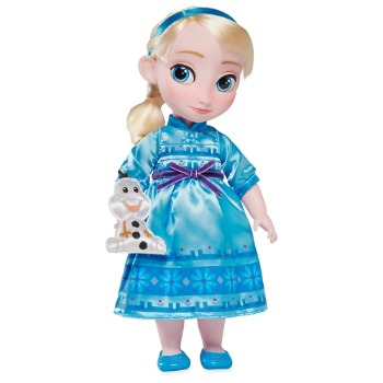 Disney Animators' Collection Elsa Doll  Frozen  16''